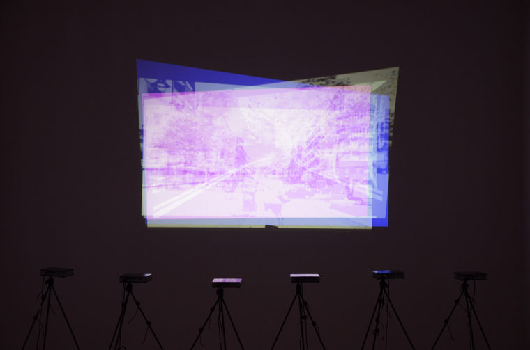 The Third Way, 2007-2013. Six-channel video installation.