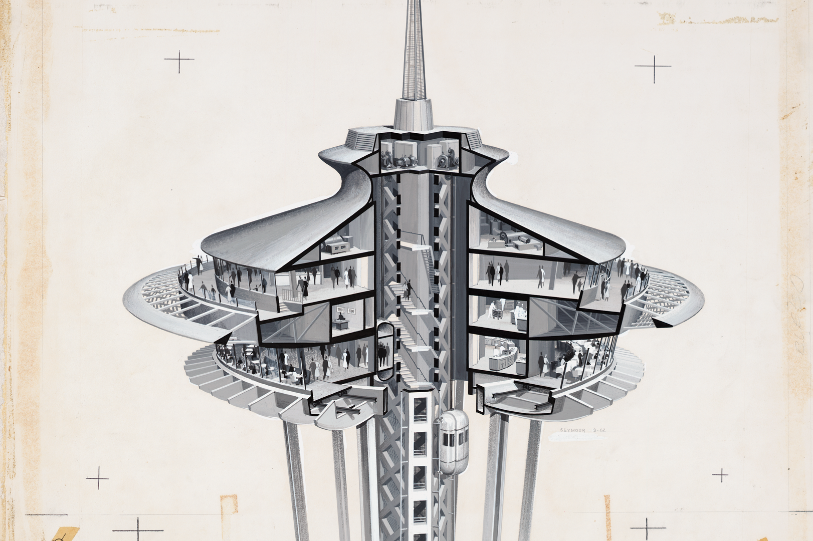 Kinetic Architecture and Aerial Rides: Towards a Media Archaeology of the Revolving Restaurant View by Synne Bull